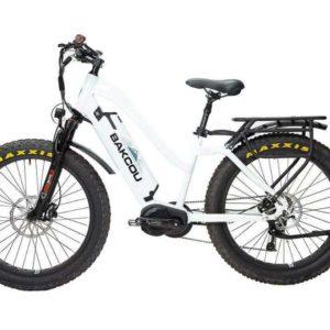 BAKCOU Mule Step Through Electric Hunting Bike