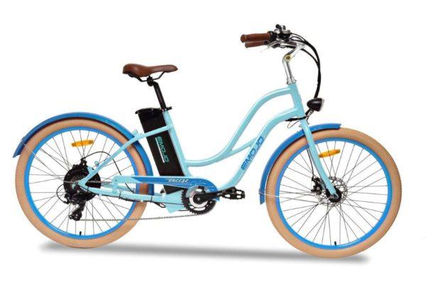 Emojo Breeze Beach Cruiser Electric Bike