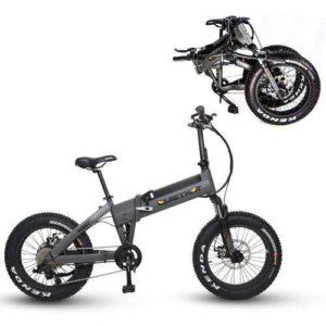 QuietKat Voyager Folding Electric Bike