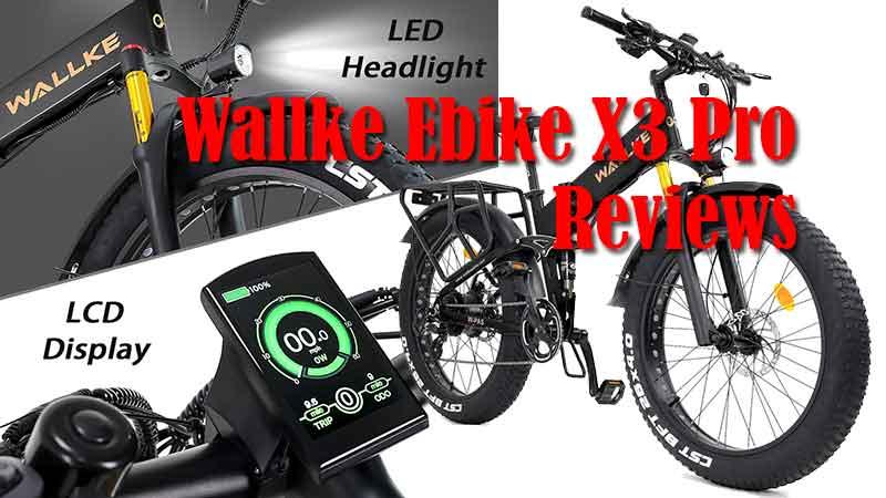 W Wallke 750W Electric Bicycle