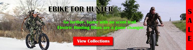 ebike for hunters